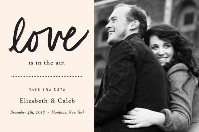 FINE DAY PRESS Save The Date Collection