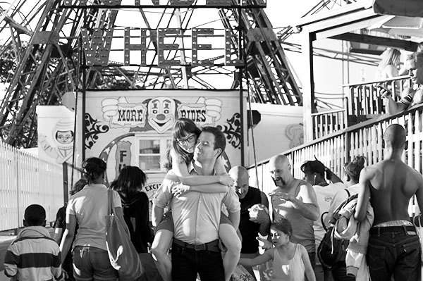 Coney Island Engagement Brooklyn Photography