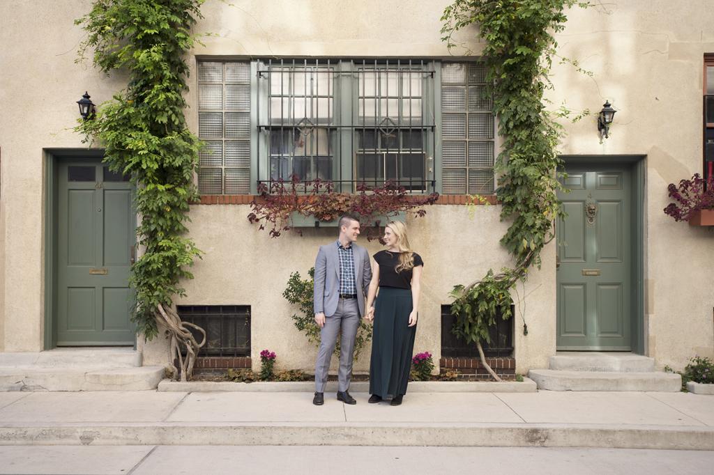 West Village Engagement Photos Scott Claire