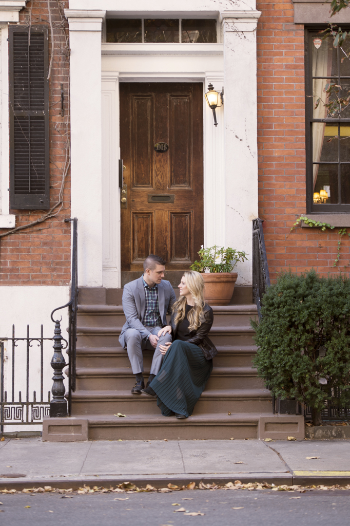 West Village Engagement Photos Scott Claire