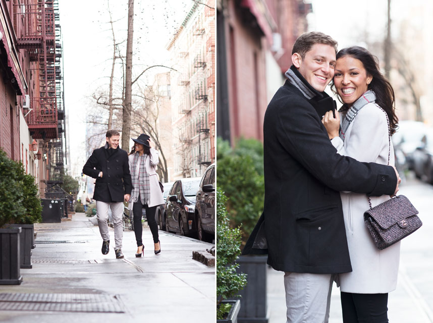 NYC Engagement West Village Wilfie Nell
