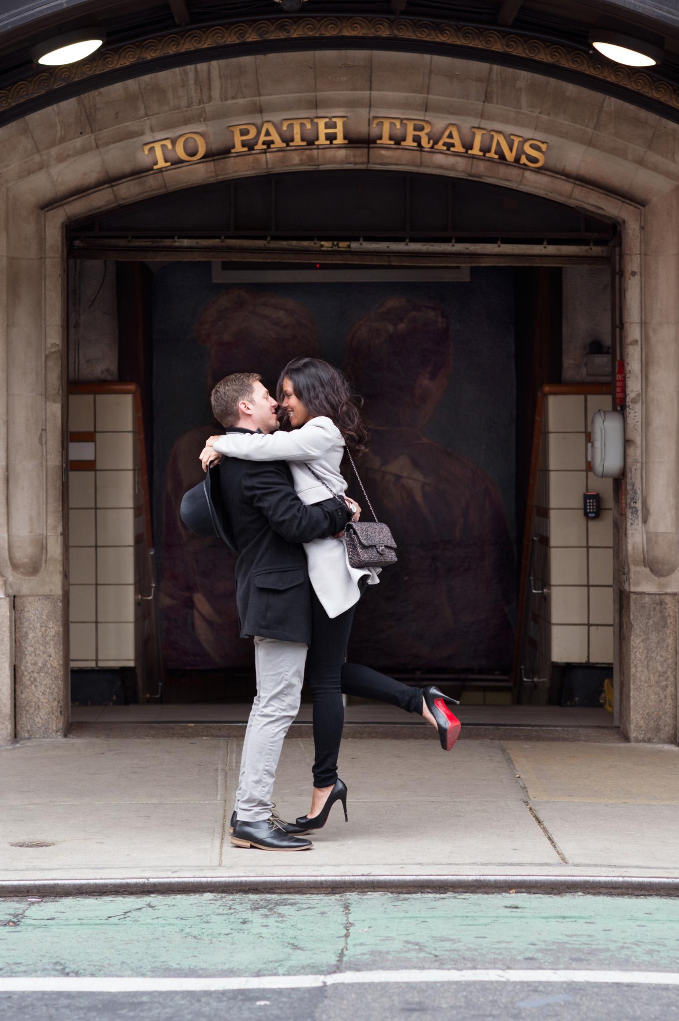 New York Wedding Photographer West Village Engagement