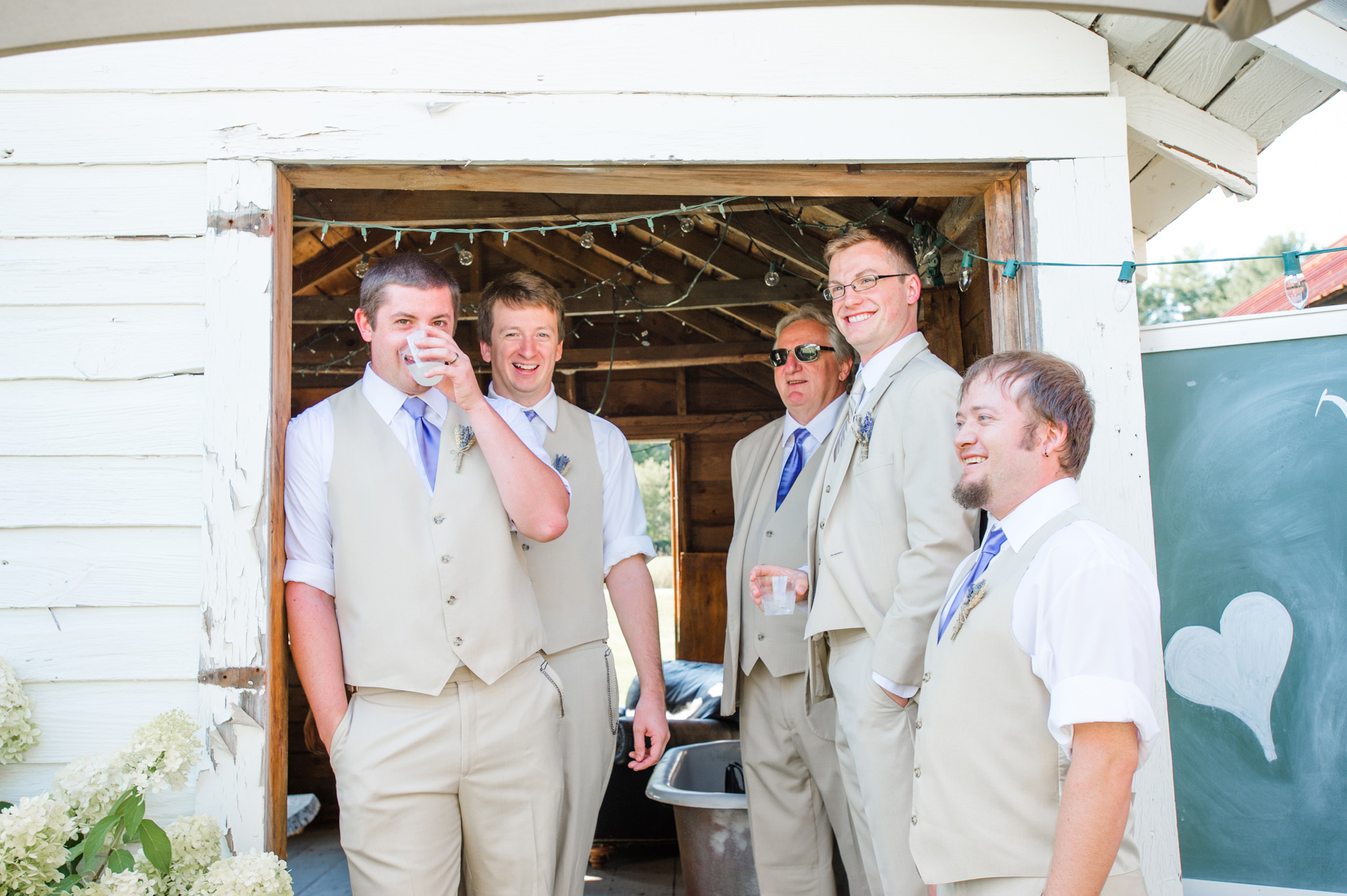 Burlap & Beams Wedding Photography