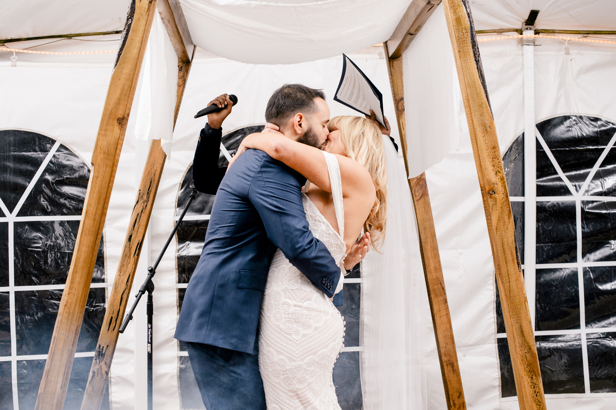 New York Barn Wedding Full Moon Resport Catskills