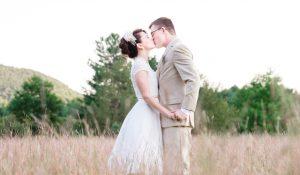 Grace & Carey | Burlap & Beams Wedding